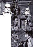 Topps SWG6 Sketch Cards 6 7 by SSwanger