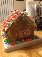 Mickey Mouse Gingerbread House 2 by Simpsonsfanatic33