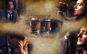 it kills the loneliness (Destiel wallpaper) by mistofstars