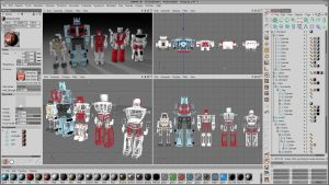 WIP Protectobots - Group by 100SeedlessPenguins