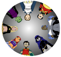Circle of Titans by NavigatorzSilhouette