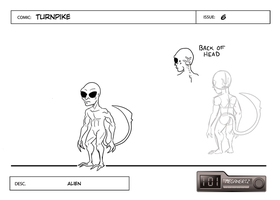 Turnpike Design - Alien st.6 by cmbarnes