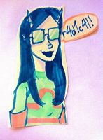 'Tula in Technicolor by InuXKag4ever