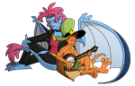 Wander Over Gargoyles by Whimsy-Floof