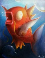 The majestic Magikarp by Anto-Z