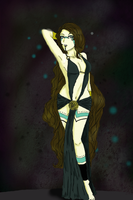 Abhigya Pin-up by Insanity-is-who-I-am