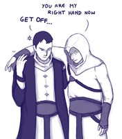 Right-hand man by pseudoMim