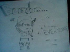 Mrsnakehead08 drawing: Boredom by Mrsnakehead08