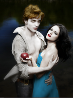 Edward and Bella Photoshoot 2 by iNS0MNiA92