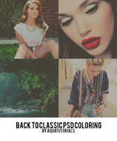 'Backtoclassic' PSD Coloring by Aquatutorials