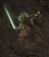 Yoda speedpaint by Norke