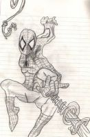 Spiderman Webbing by SonicXfan007