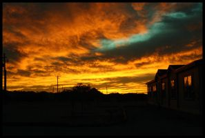 On Fire.... The Sky. by Kalven