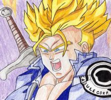 SSJ Future Trunks by Stephr0x0rs
