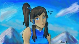 Korra. by geruduAlley