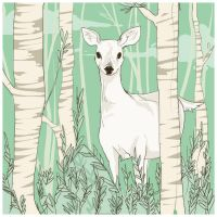May 5 - White Doe by fresh4u