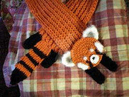 Red Panda Longbottom x2 by bobbin4apples