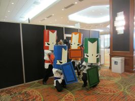 AFest 2012 - Castle Crashers by Soynuts