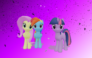 .:MLP x MMD:. Happy Spirit Day Everypony by SaziSkylion