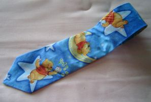 Winnie the Pooh Necktie by Isilian