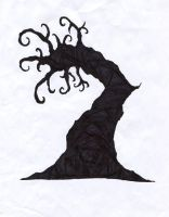 Tree coming alive by Kongzilla2010