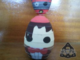 11th Doct'egg by HellswordPapercraft