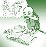 an impressionable small child reads homestuck by hootlord