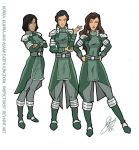 Kuvira newest officers by Pronon1990