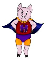 Super Ham by KierstenViolette