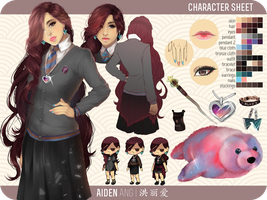 [ILGB] Reference Sheet by rieule
