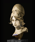 Bust of Athena by PrincessBloodyMary
