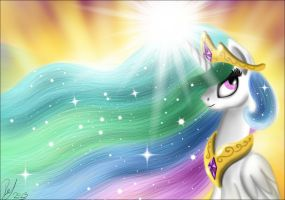 Princess Celestia by Vet2B