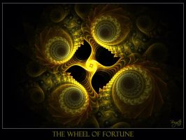 The Wheel Of Fortune by Brigitte-Fredensborg