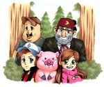 Gravity Falls - Inktober #4 by SomedaySakuhin