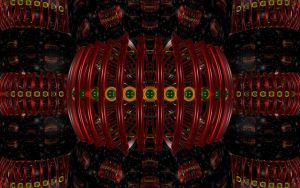 Ruby Emeralds Golden Ring r2 by TexManson