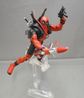 Deadpool Animated 3 Rocket by Shinobitron
