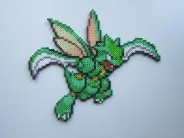 Scyther by 8-BitBeadsStudio