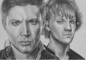 Dean and Sam by MalfoysAngel