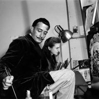 Watching Salvador Dali paint by SabinaNore
