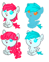 Foal Adoptables [open] by pinkamainia