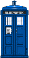 The TARDIS by Hathor-the-Queen