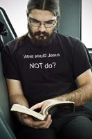 what would Jesus NOT do? by NuclearSeasons