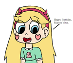 Star Butterfly's message for me by SuperMarcosLucky96
