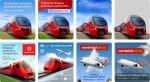 Web banners for shares Aeroexpress by Alexey-Starodumov