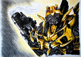 TF: ROTF Bumblebee by Scraplet