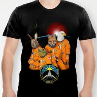 THE LYLAT SPACE PROGRAM T AND HOODY! by J-MEDBURY