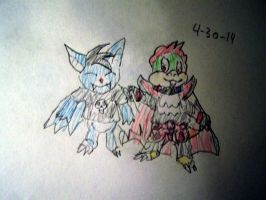 Request: Mace-Bat and Edvard Greig Koopa by Vyel