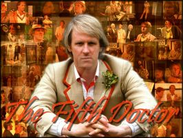 The Fifth Doctor by Amrinalc