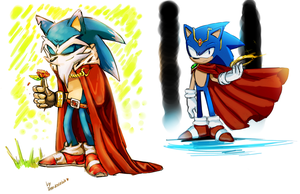King Sonic by Drawloverlala
