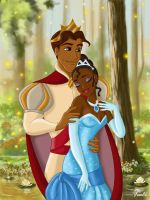 TIANA AND NAVEEN II by FERNL